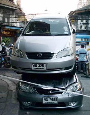 car crashstacked