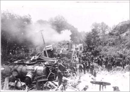 great old train wreck